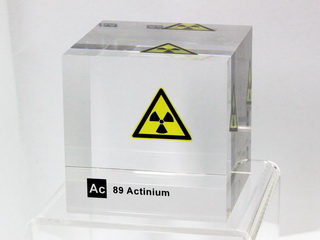 Acrylic Element cube - Actinium - 50mm