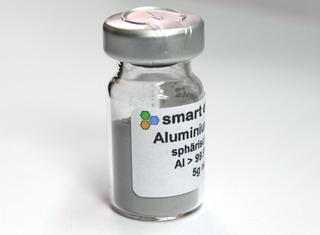 smart-elements - High pure aluminum powder, >99.7% purity 5g