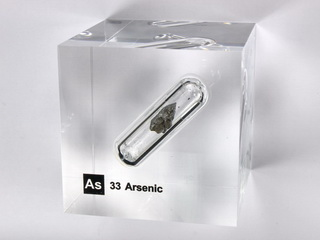 smart-elements - Acrylic Element cube - Arsenic As - 50mm