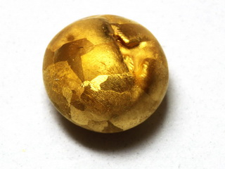 smart-elements - 24K Fine gold etched pellet, 1g purity 99,99%