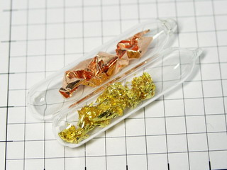 smart-elements - Pure Copper & gold set sealed in ampoules