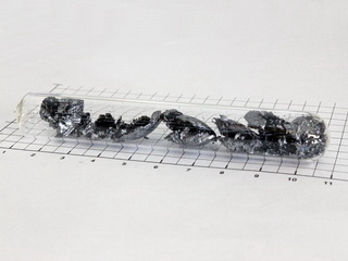 Black Phosphorus - crystal  pieces -  5.0g in ampoule