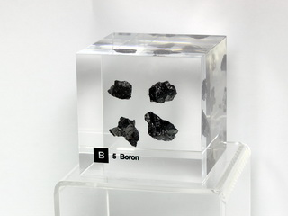 Acrylic Element cube - Boron B - 50mm
