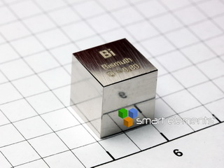 smart-elements - Bismuth - precision density-standard cube 1cm3