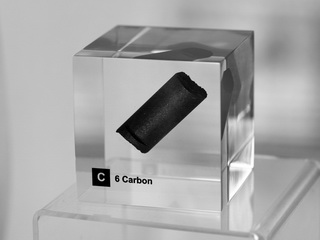 smart-elements - Acrylic Element cube - Carbon C - 50mm