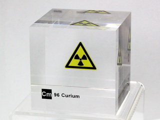 smart-elements - Acrylic Element cube - Curium - 50mm
