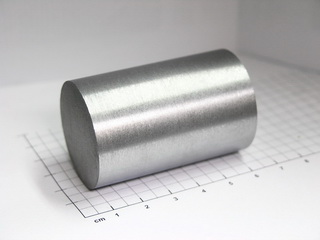 smart-elements - Chromium rod 99.9% - ~389g - Ø 35 x 55mm