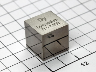 smart-elements - Dysprosium high precision density-standard cube 1cm3