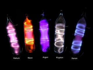 smart-elements - Noble gases complete set in ampoules premium version