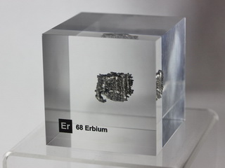 smart-elements - Acrylic Element cube - Erbium Er - 50mm