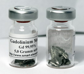smart-elements - High purity Gadolinium Metal pieces 99,95% purity - 5 grams
