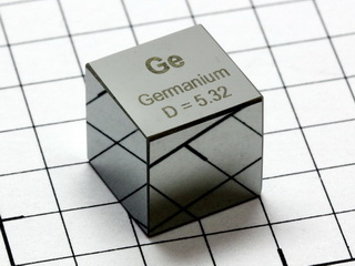 smart-elements - Germanium - precision density-standard cube 1cm3