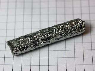 Mini-Hafnium Crystal Bar - 34.84g very shiny and clear!
