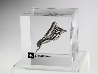 smart-elements - Acrylic Element cube - Holmium Ho - 50mm