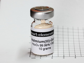 smart-elements - Holmium(III)-Oxide 99,99% - Ho2O3 - 10.0 grams
