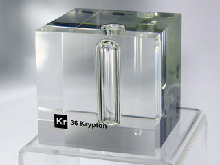 smart-elements - Acrylic Element cube - Kr Krypton - 50mm