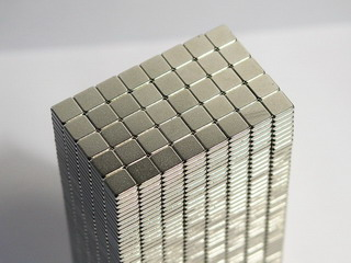 smart-elements - 50 Neodymium Power Magnets 5x5x1.5mm N52 Nickel plated!