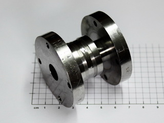 smart-elements - Solid Niobium metal flange assembly - 379 grams