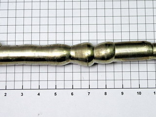 smart-elements - Nickel zone-refined single crystal rod -  148 grams