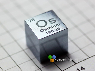 BIG OSMIUM precision density-standard cube 1 inch - 13 oz