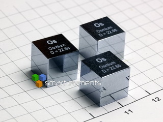 smart-elements - OSMIUM precision density-standard cube 1cm3
