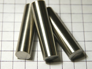 High purity Palladium metal rod - polished  99.95%  - ~ 76g