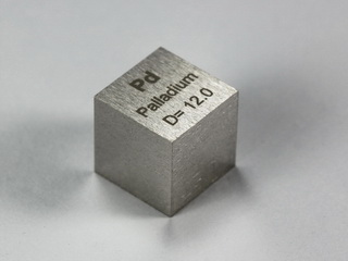 smart-elements - PALLADIUM precision density-standard cube 1cm3 - 12.0g