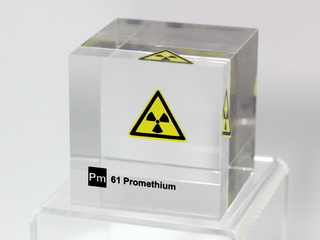 smart-elements - Acrylic Element cube - Promethium - 50mm
