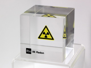 smart-elements - Acrylic Element cube - Radon - 50mm