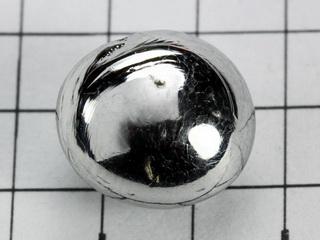 smart-elements - Ruthenium 5.19g melted pellet, purity 99.96%