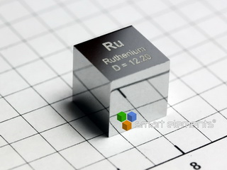 smart-elements - Ruthenium precision density-standard cube 10x10x10mm
