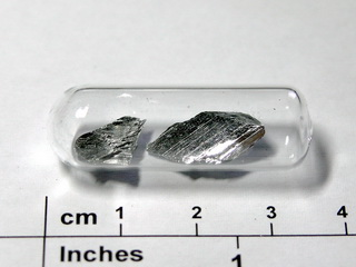 smart-elements - Antimony,  99,9999% purity crystalline pieces  -  1.5 grams
