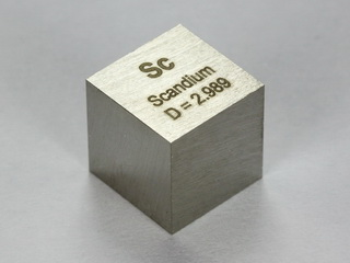 smart-elements - Scandium precision density-standard cube 1cm3