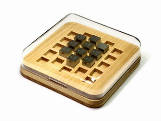 smart-elements - Wooden Case + acrylic cover for our density-standard cubes