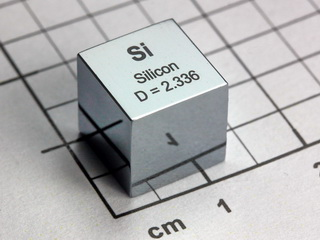 smart-elements - Silicon - high precision density-standard cube 1cm3