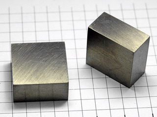 smart-elements - TERBIUM target - cuboid - 20x20x10mm - 99.99% purity