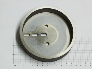smart-elements - Pure tungsten metal component part 1955 grams - 99.95%