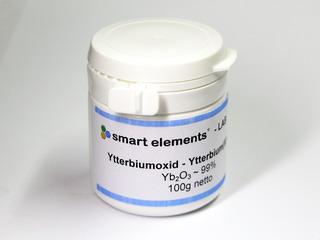 smart-elements - Ytterbium Oxide ~99% - Yb2O3 - 100 grams