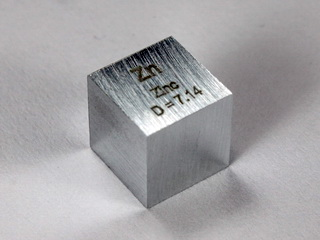 smart-elements - Zinc - precision density-standard cube 1cm3